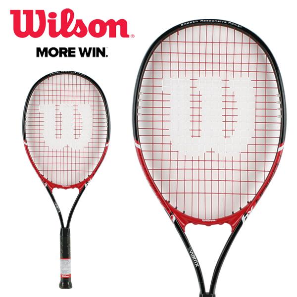 윌슨 퓨젼 XL 테니스라켓 - 레드